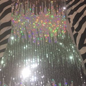 Holographic Sequin Tank Top